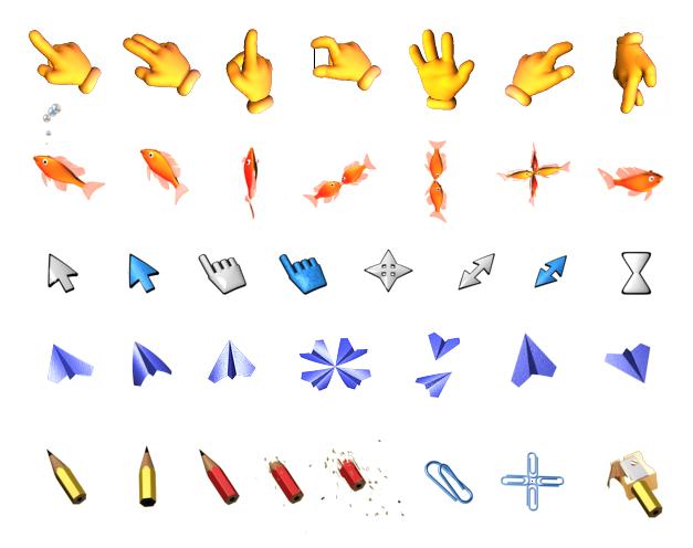 Hasil gambar untuk animasi cursor
